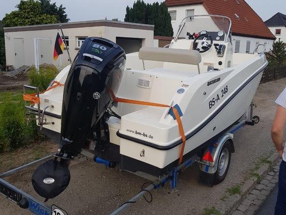 Mein neues Boot